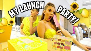 GRWM: ADELAINE X TARTE LAUNCH PARTY!🍋(Yellow Everything)