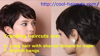 Haircut 2019. The most fashionable hairstyles 2019 and new hair trends