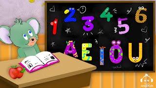 INIZIA LA SCUOLA: Ripassiamo lettere e numeri con Ginetta