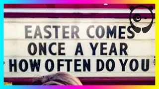 Genius Church Signs That Will Make You Laugh And Think