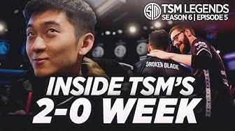Heating Up: Inside TSM's 2-0 LCS Week 🔥 | TSM LEGENDS S6E5