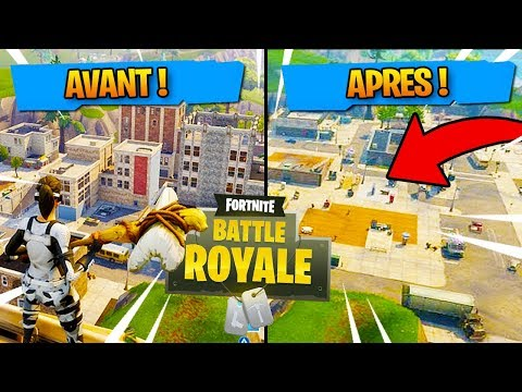 ON RASE LA VILLE DE TILTED TOWERS !! (Fortnite Battle Royale)