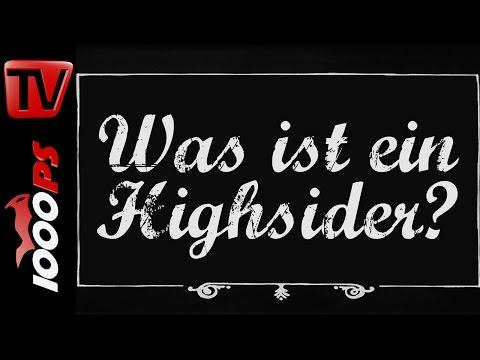 Was ist ein Highsider? - Motorrad Lexikon