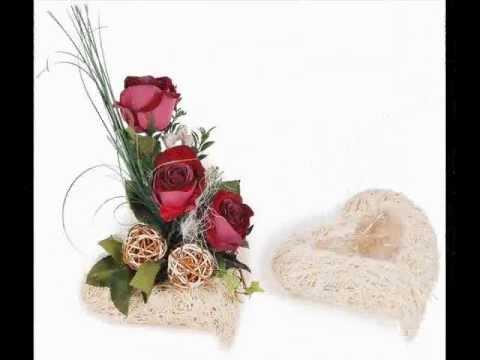 Blumenschmuck Hochzeit selber machen. Blumen-Deko selbst basteln