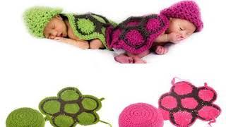 0-6M Newborn Baby Cute Crochet Knit Costume Prop Outfits Photo