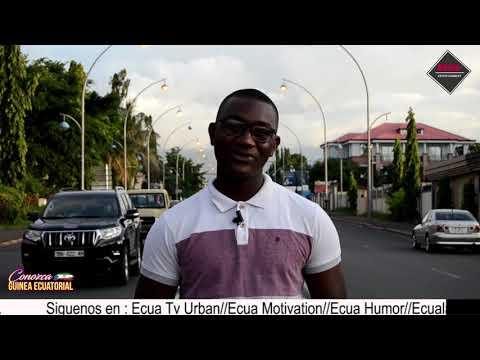 ASI son las calles de la CAPITAL DE GUINEA ECUATORIAL (MALABO)
