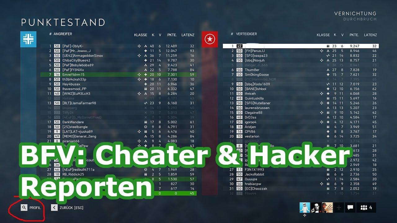 battlefield 4 report hacker