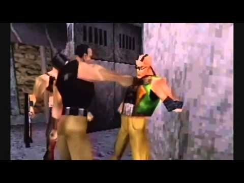 Kano & Kabal in Mortal Kombat: Special Forces Deleted Scene