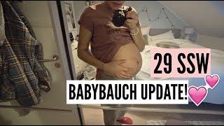 29SSW BABYBAUCH UPDATE! | 21.03.2018 | ✫ANKAT✫
