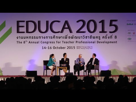 EDUCA : 2015 Questions & Answers for Morning Keynote Session