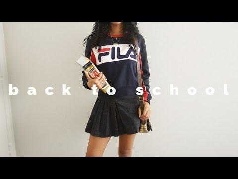 Back to School Lookbook - College Edition | Asia Jackson
