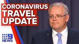 Breaking News: New coronavirus screening measures, travel bans | Nine News Australia