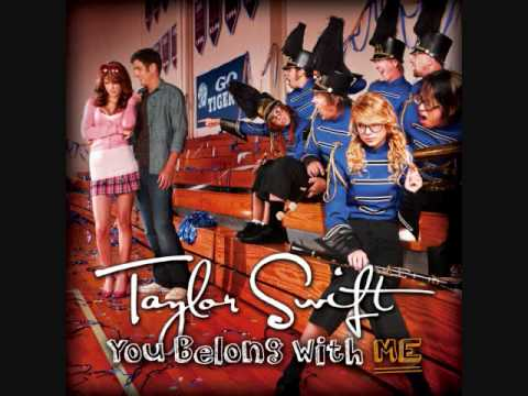 You belong with me - Taylor Swift (instrumental - acoustic)