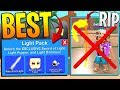 NEW LIGHT PACK BETTER THEN MYTHICAL SCYTHE IN ROBLOX MINING SIMULATOR!?