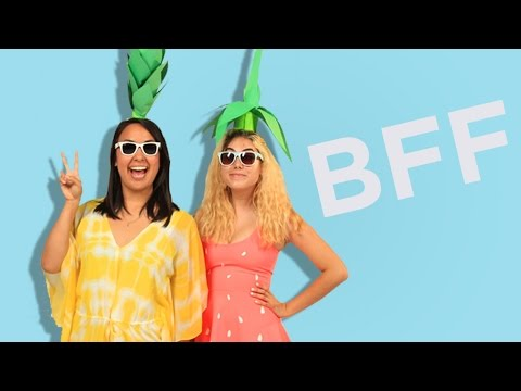 5 Easy BFF Halloween Costumes  sc 1 st  YouTube & 5 Easy BFF Halloween Costumes - YouTube
