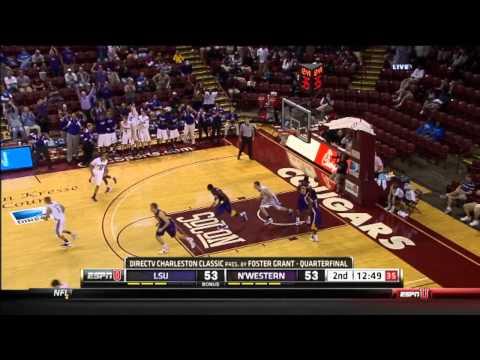 Northwestern Wildcats Basketball vs. LSU Tigers - 11/17/11
