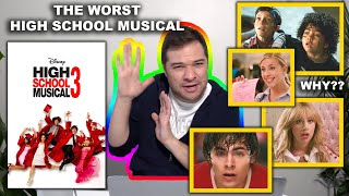High School Musical 3 is the WORST One. A Senior Year Review