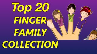 Top 20 Finger Family Collection | Biggest Finger family Collection
