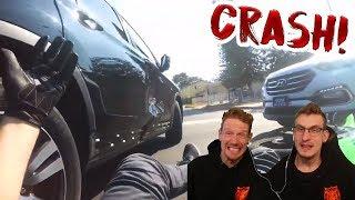 Krasser Crash! | Reaktion