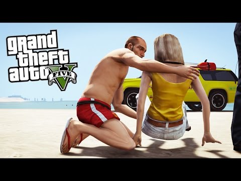 GTA 5 - Rescue Ep2 - Paramedics in the Ocean!!