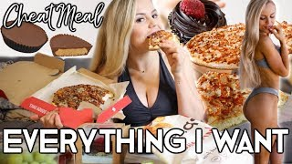 ULTIMATE CHEAT MEAL MUKBANG | Eating EVERYTHING I Wanted!!