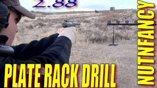 Plate Rack Drill:  Tacticaldoodle Shoots 2.88 Secs