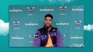 Malik Monk POSTGAME Interview After Hornets BIG Win Over Houston Rockets