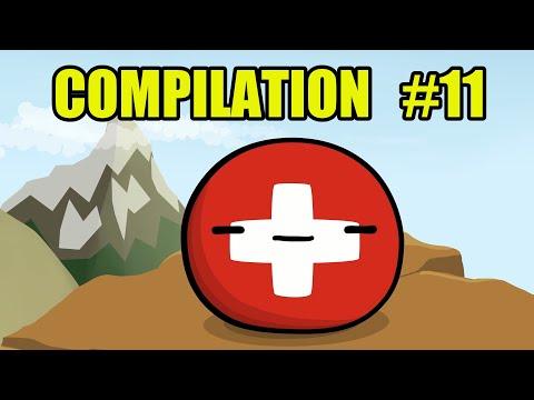 Countryballs Compilation - #11