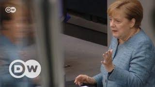 Haushaltsdebatte im Bundestag: Gelder für Europa | DW Deutsch