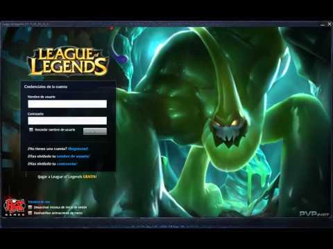 League of Legends - Zac Login Screen and Music [1080p HD]