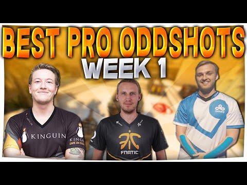 CS:GO - When PROS DO COOL SH*T #1 Ft. Olofmeister, Shroud & More!