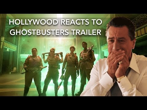 Hollywood reacts to Ghostbusters trailer