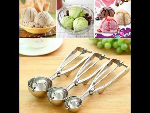 Заказ с Китая ложка для мороженого ♥