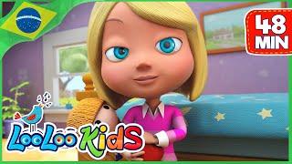 Senhorita Polly Tinha um Dolly  - Música Infantil | LooLoo Kids Português