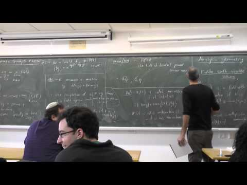 Topics in algebraic groups theory Uri Bader 1