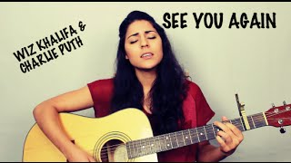 Wiz Khalifa - See You Again ft. Charlie Puth ( Veronica Sixtos Acoustic Cover)