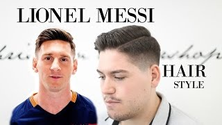 Lionel Messi Hairstyle 2016 Men S Haircut Inspiration Youtube