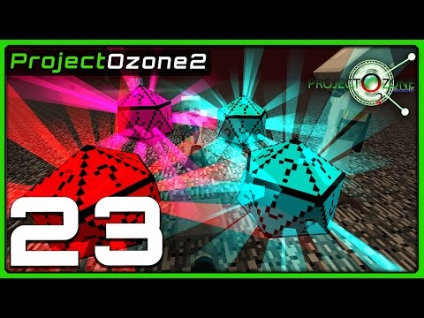 Modded Minecraft - Project Ozone 2 Reborn - Ep 23 -- QUAD CHANCE-CUBE DISASTER! - 동영상