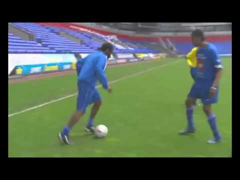 FREESTYLE FOOTBALL !!! WITH NEYMAR OKOCHA RONALDINHO ZLATAN RONALDO ETC  T TAIWO PRODUCTION