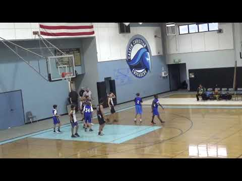 HTMNC Junior Varsity vs Calvin Christian Middle School   December 6, 2019