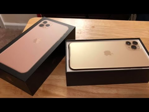 iPhone 11 Pro Max Unboxing! (Gold 512GB!)
