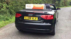 AUDI A3 CONVERTIBLE AUTOMATIC BLACK CAR FINANCE AVAILABLE