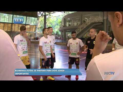Blumenau Futsal se prepara para dois jogos importantes