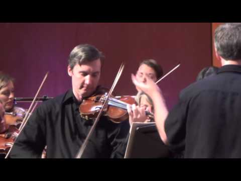 Canon in D Major, Johann Pachelbel.  Allegro Chamber Orchestra, Brian Norcross, Conductor.