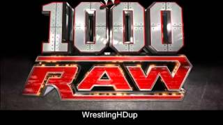 New 2012 WWE RAW Theme Song  Jim Johnston   Tonight