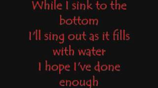 Underoath - Desperate Times, Desperate Measures lyrics