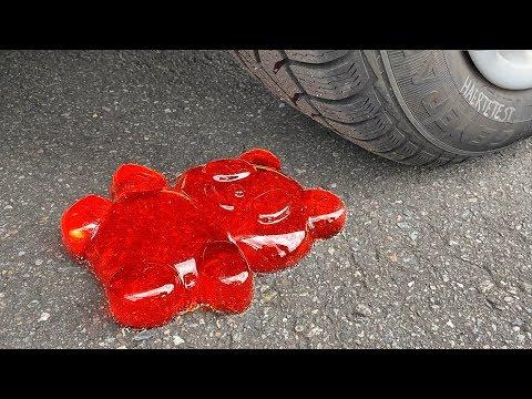 EXPERIMENT: Car Vs Gummy Bear