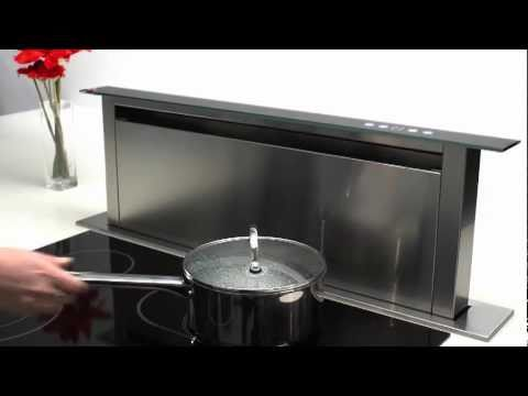 Caple Sense DD900BK Downdraft Hood from Appliance House - YouTube