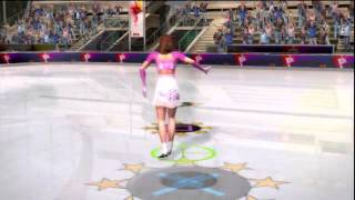 Winter Sports 2010 (PS3) Gameplay: Figure Skating