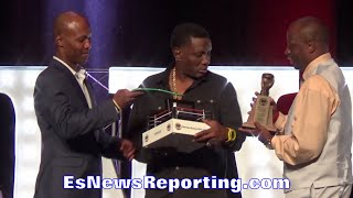 PERNELL WHITAKER NEVADA BOXING HALL OF FAME SPEECH - EsNews Boxing